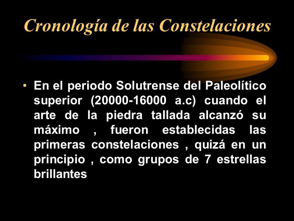 En el periodo Solutrense del Paleolítico superior (20000-16000 a.c) cuando el arte de la piedra tallada alcanzó su máximo, fueron establecidas las pri