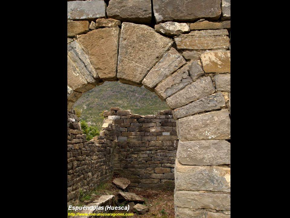 Espuéndolas (Huesca ) http://www.romanicoaragones.com