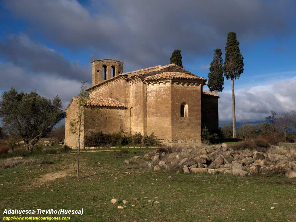 Adahuesca-Treviño (Huesca ) http://www.romanicoaragones.com