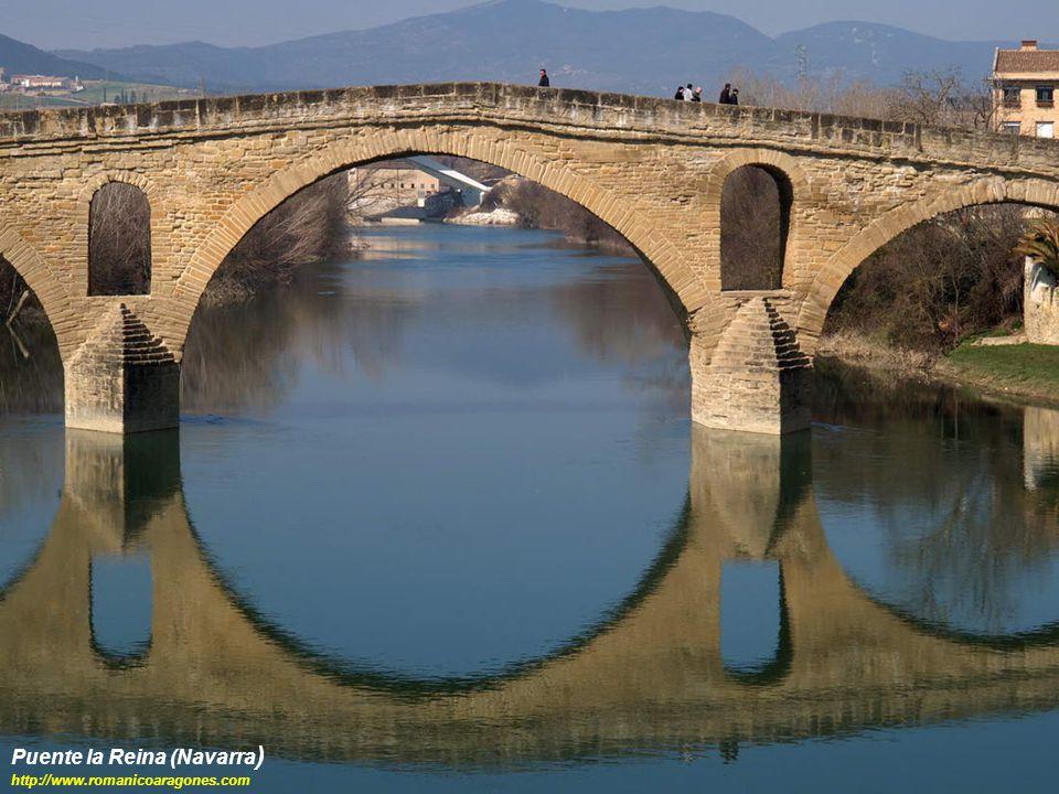Puente la Reina (Navarra ) http://www.romanicoaragones.com