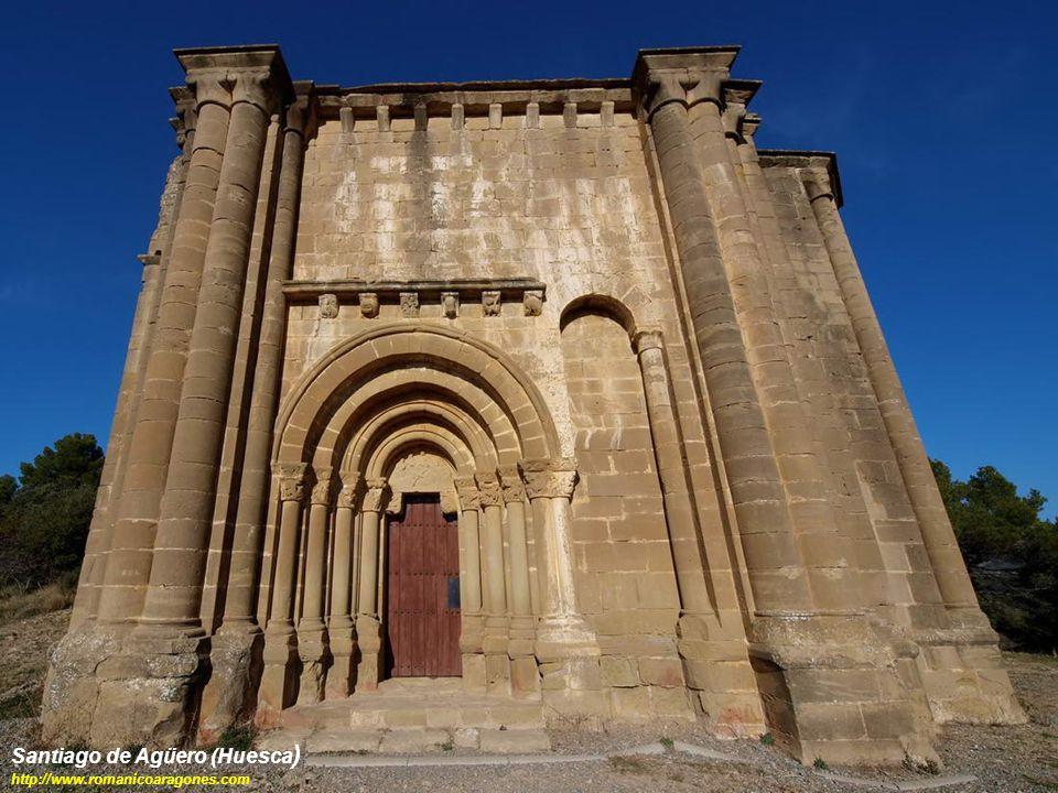 Santiago de Agüero (Huesca ) http://www.romanicoaragones.com