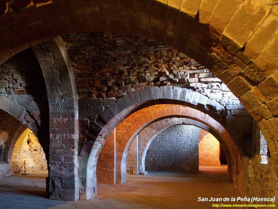 San Juan de la Peña (Huesca ) http://www.romanicoaragones.com
