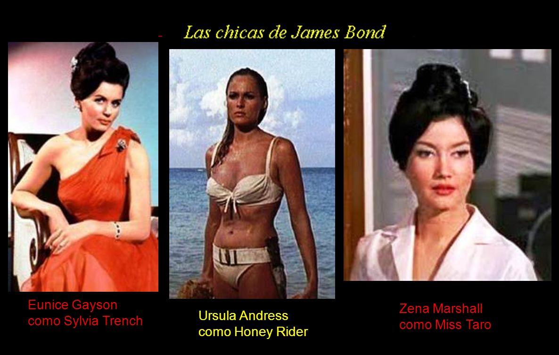 Eunice Gayson como Sylvia Trench Zena Marshall como Miss Taro Ursula Andress como Honey Rider