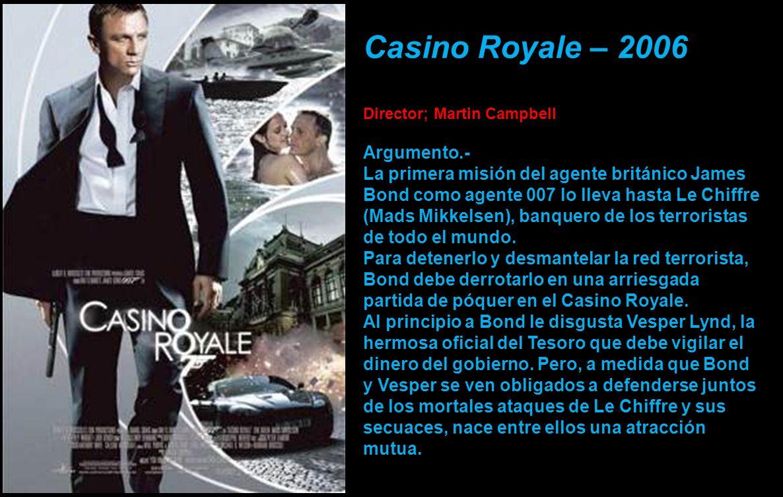 Es el sexto y más reciente actor que ha interpretado el papel de James Bond en las adaptaciones oficiales de las películas.