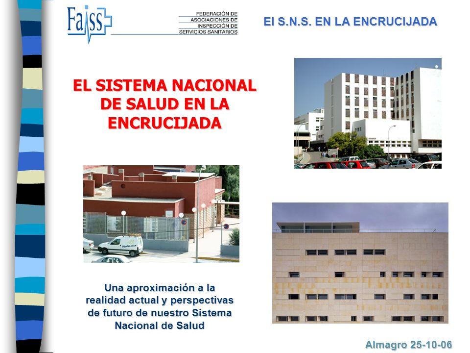 EL SISTEMA NACIONAL DE SALUD EN LA ENCRUCIJADA El S.N.S.