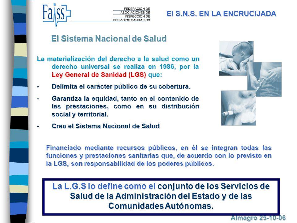 La materialización del derecho a la salud como un derecho universal se realiza en 1986, por la Ley General de Sanidad (LGS) que: -D-D-D-Delimita el carácter público de su cobertura.