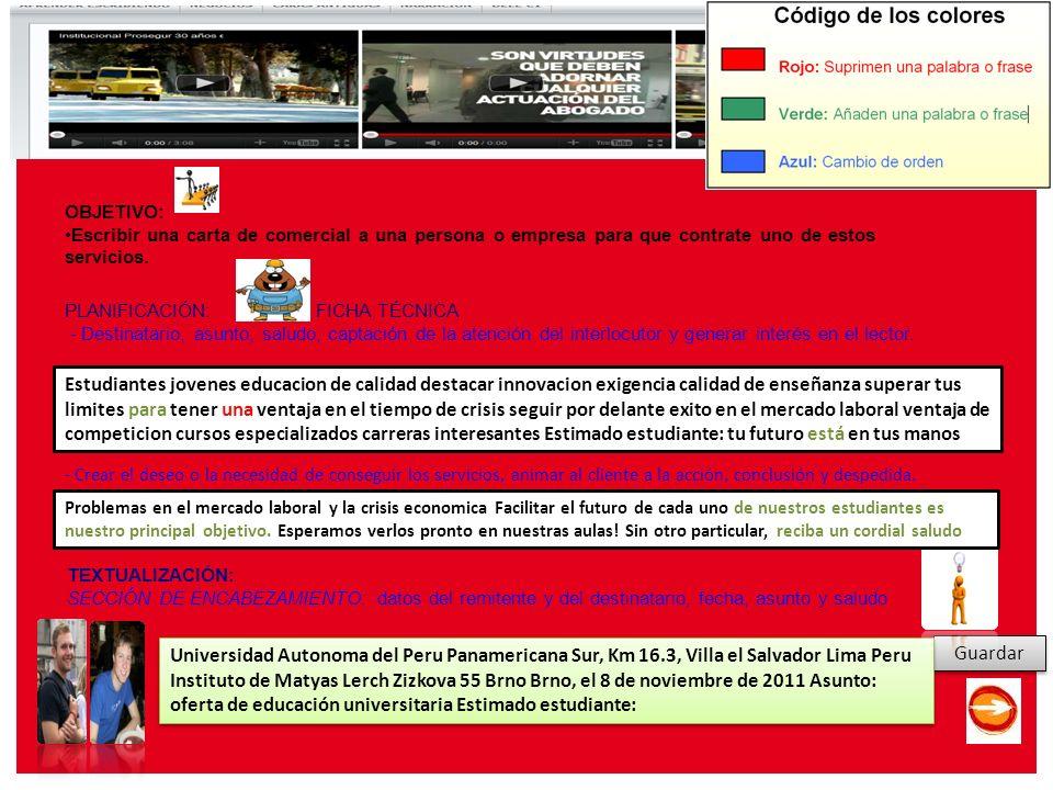 E Leer y escribir en español en la red: aprendizaje, renovación y propuestas (15 y 16 de diciembre de 2011) Guardar Estudiantes jovenes educacion de c
