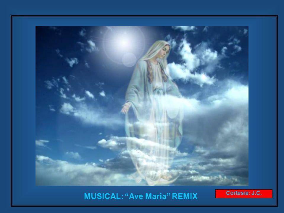Virgencita de Luján, Madre amorosa que quisiste que tus colores vistiesen la bandera Argentina.