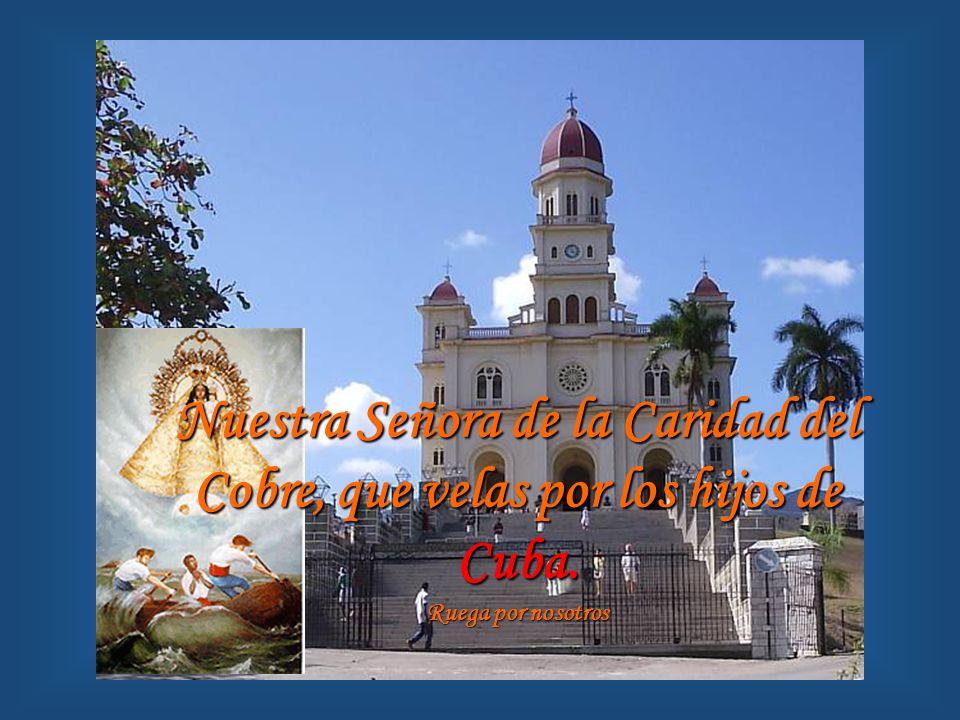 Santa María de Caacupé, que en Asunción recibes a tus hijos del Paraguay.