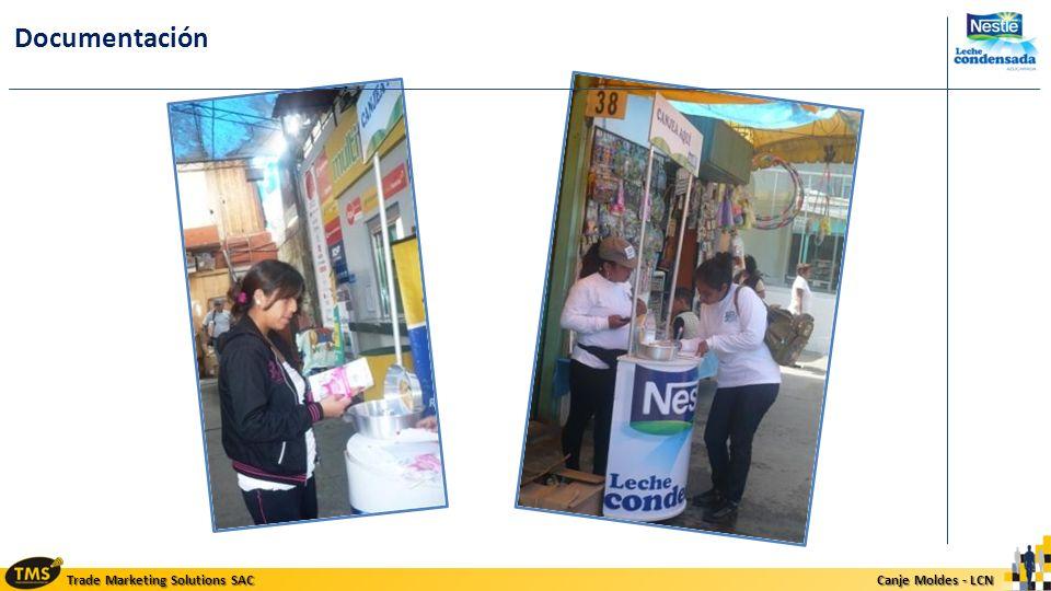 Trade Marketing Solutions SAC Canje Moldes - LCN Canje Moldes - LCN Documentación
