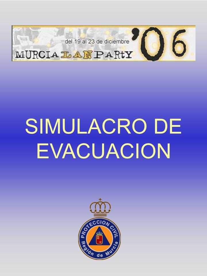 En este pabellón existen DOS SALIDAS que pueden ser utilizadas en caso de emergencia.