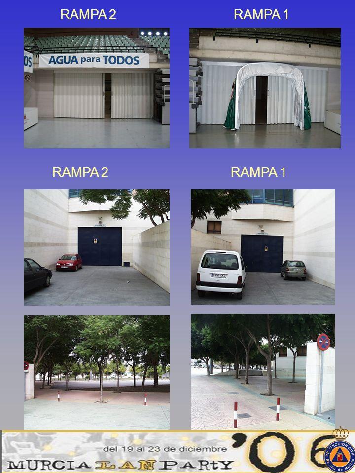RAMPA 2RAMPA 1 RAMPA 2RAMPA 1