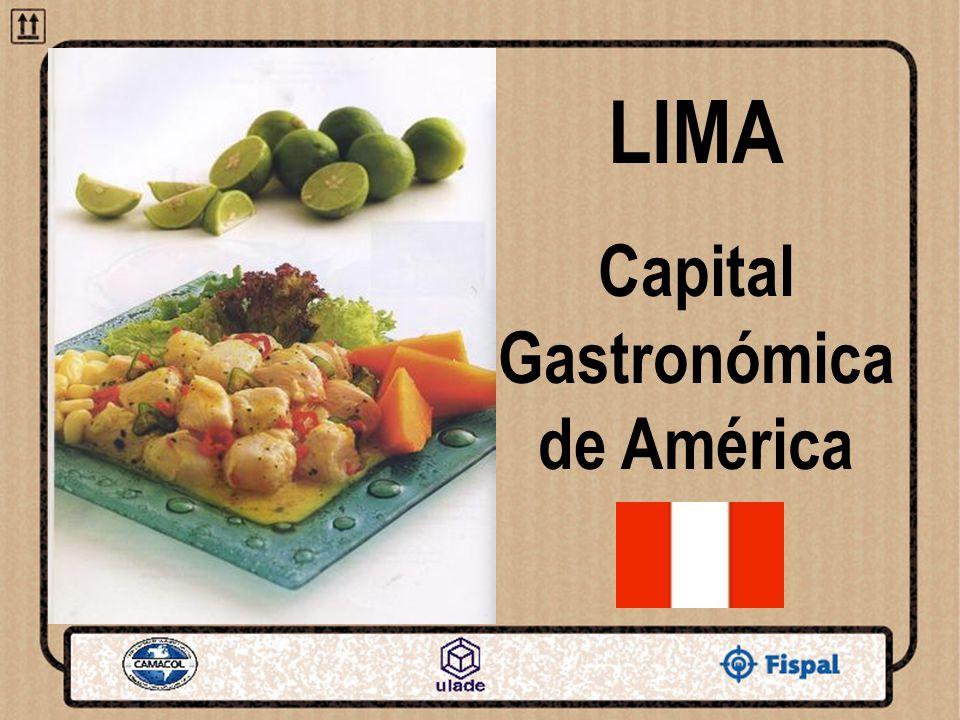 LIMA Capital Gastronómica de América