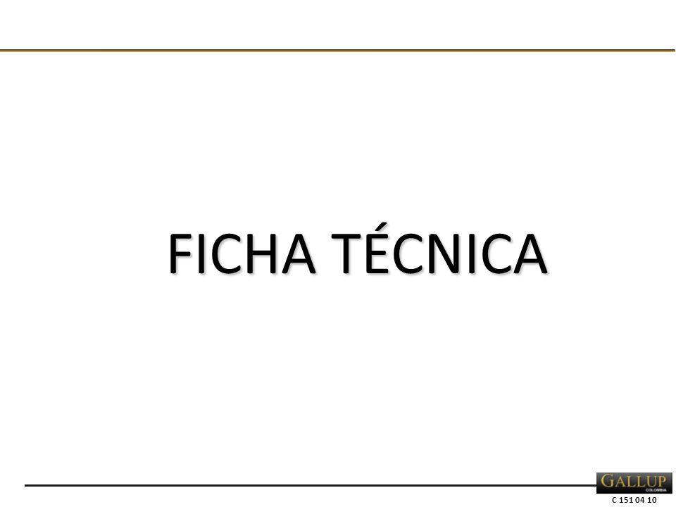 C 151 04 10 FICHA TÉCNICA