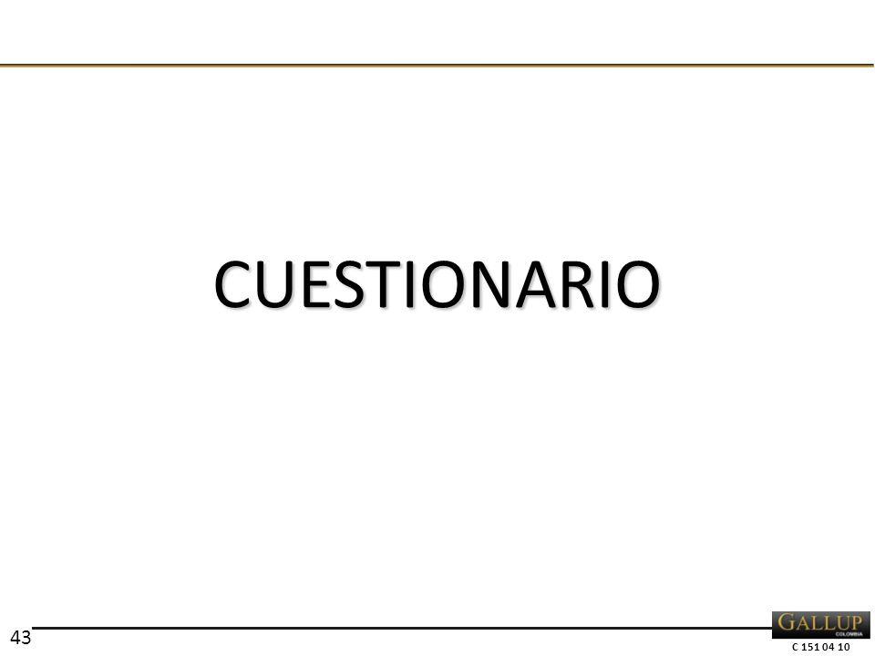 C 151 04 10 CUESTIONARIO 43