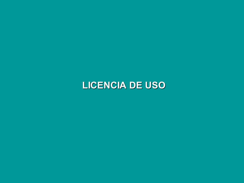 LICENCIA DE USO