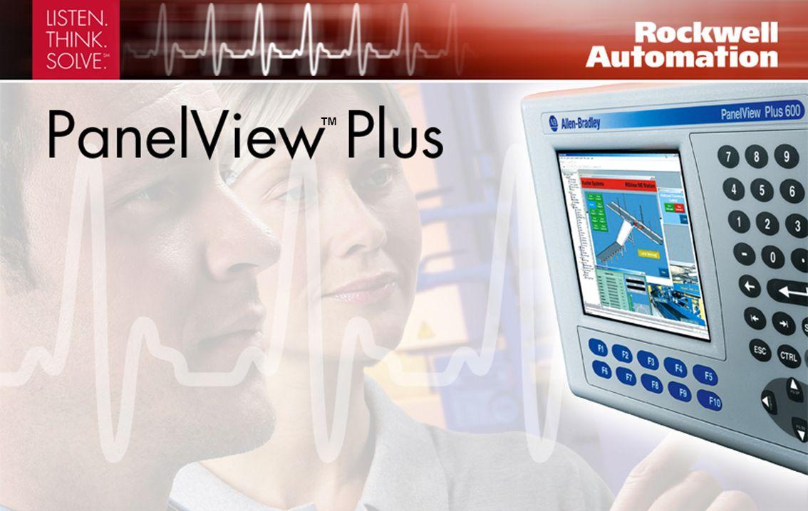 Con PanelView Plus usted puede monitorear, controlar y ver gráficamente la información Pantallas LCD de 4 pulg.