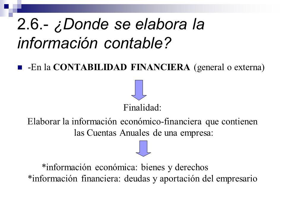 2.6.- ¿Donde se elabora la información contable.