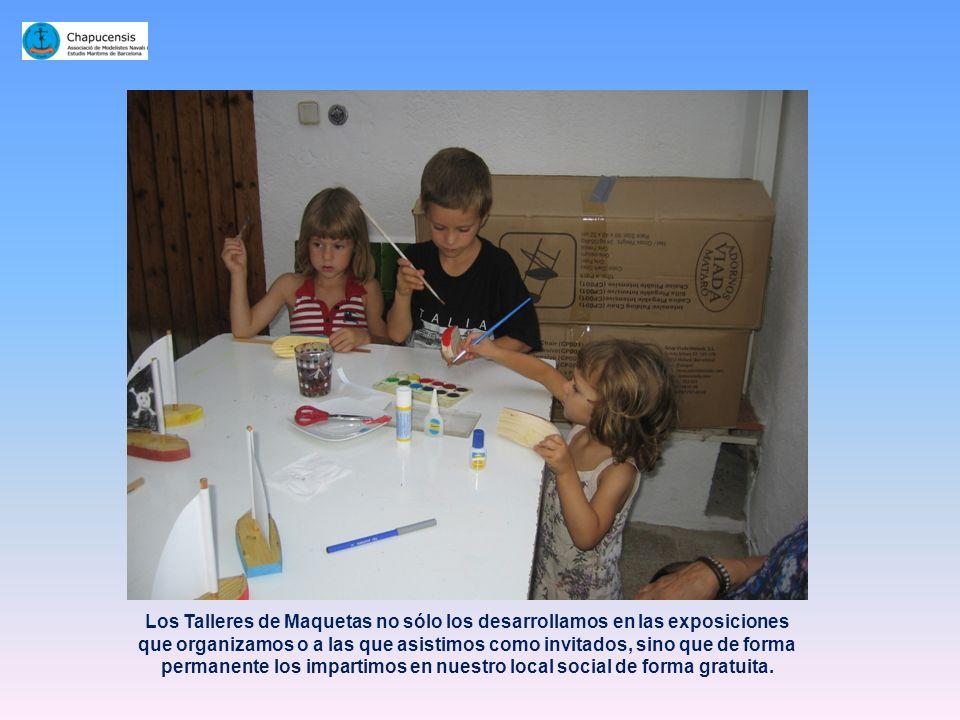 Entre los proyectos que Chapucensis dedica a la Juventud, merece especial atención nuestro Taller Infantil de Maquetas. Creando afición desde la más t