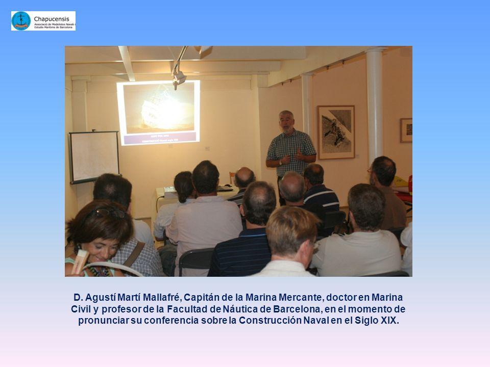Nuestro tesorero y organizador del evento, D. Joaquim Guirado, en el momento de dar la bienvenida a los asistentes al certamen y declarar inaugurada l