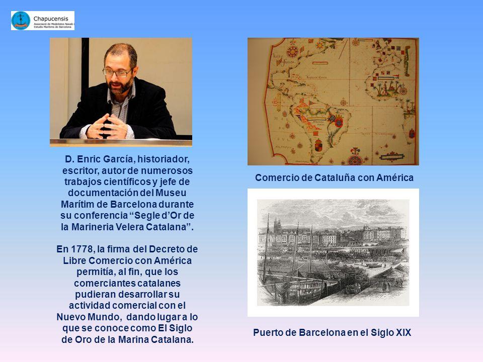 D. Agustí Martí Mallafré, Capitán de la Marina Mercante, doctor en Marina Civil y profesor de la Facultad de Náutica de Barcelona, en el momento de pr