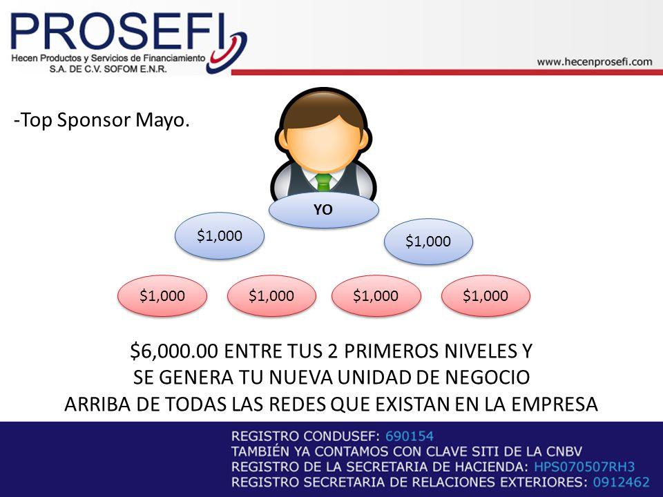-Top Sponsor Mayo.