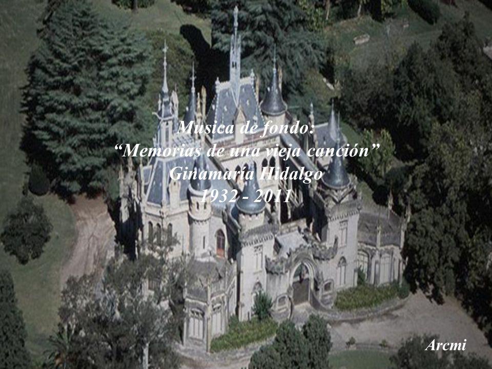Musica de fondo: Memorias de una vieja canción Ginamaría Hidalgo 1932 - 2011 Arcmi