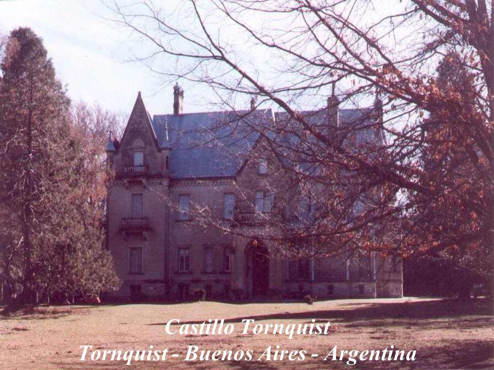 Castillo Tornquist Tornquist - Buenos Aires - Argentina