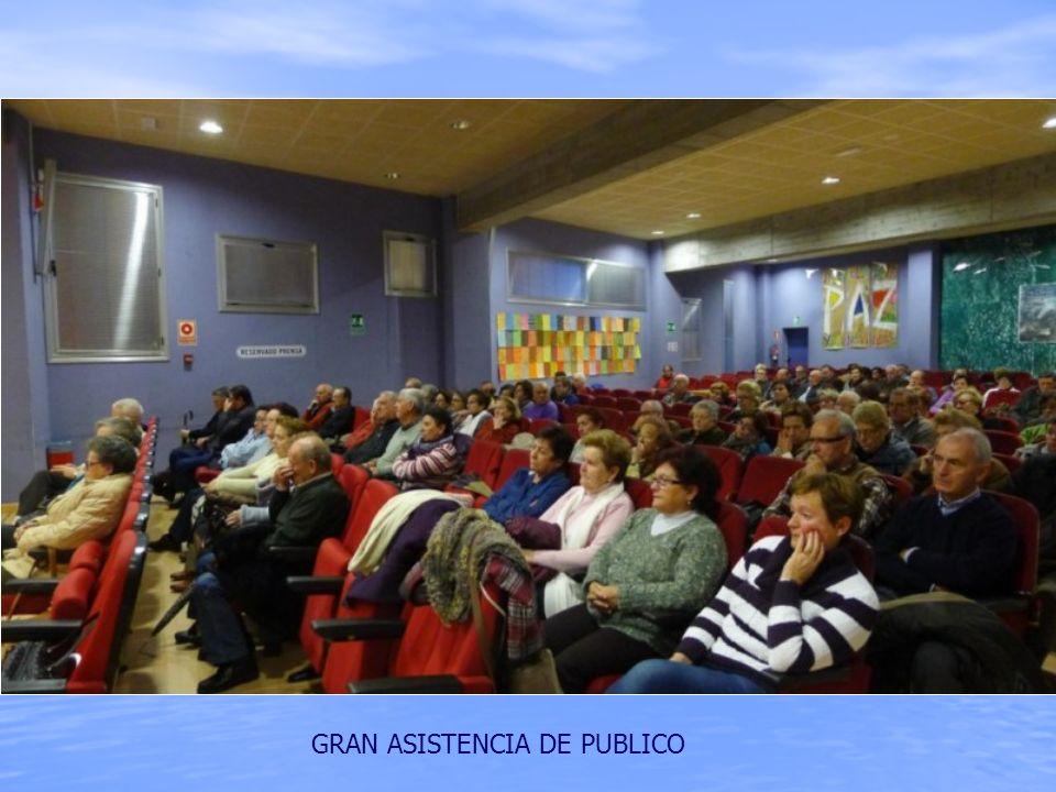 GRAN ASISTENCIA DE PUBLICO