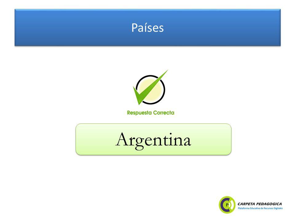 Países Argentina