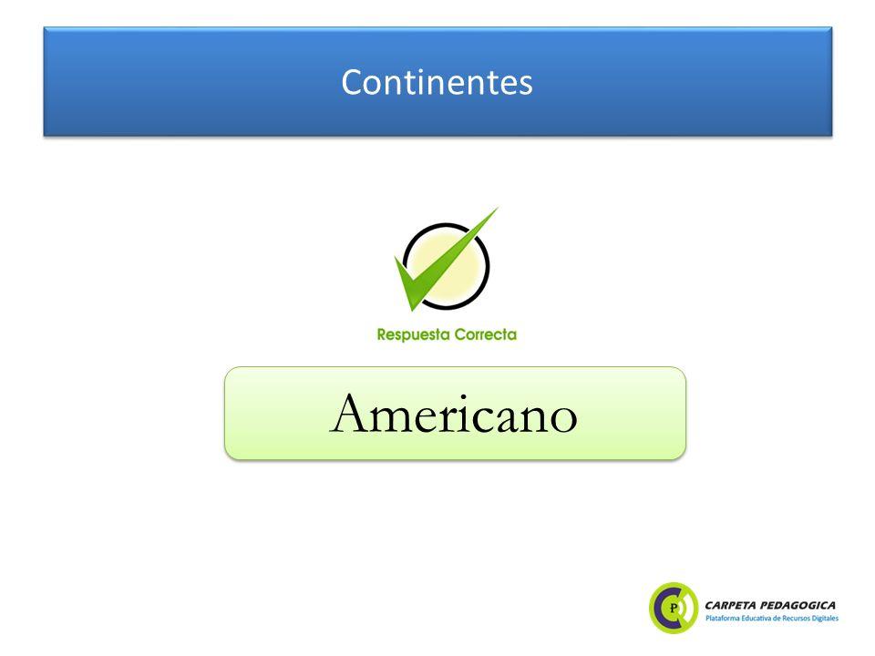 Continentes Americano
