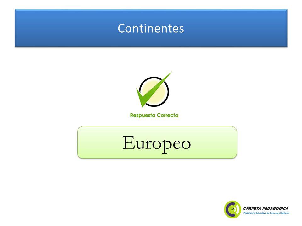 Continentes Europeo