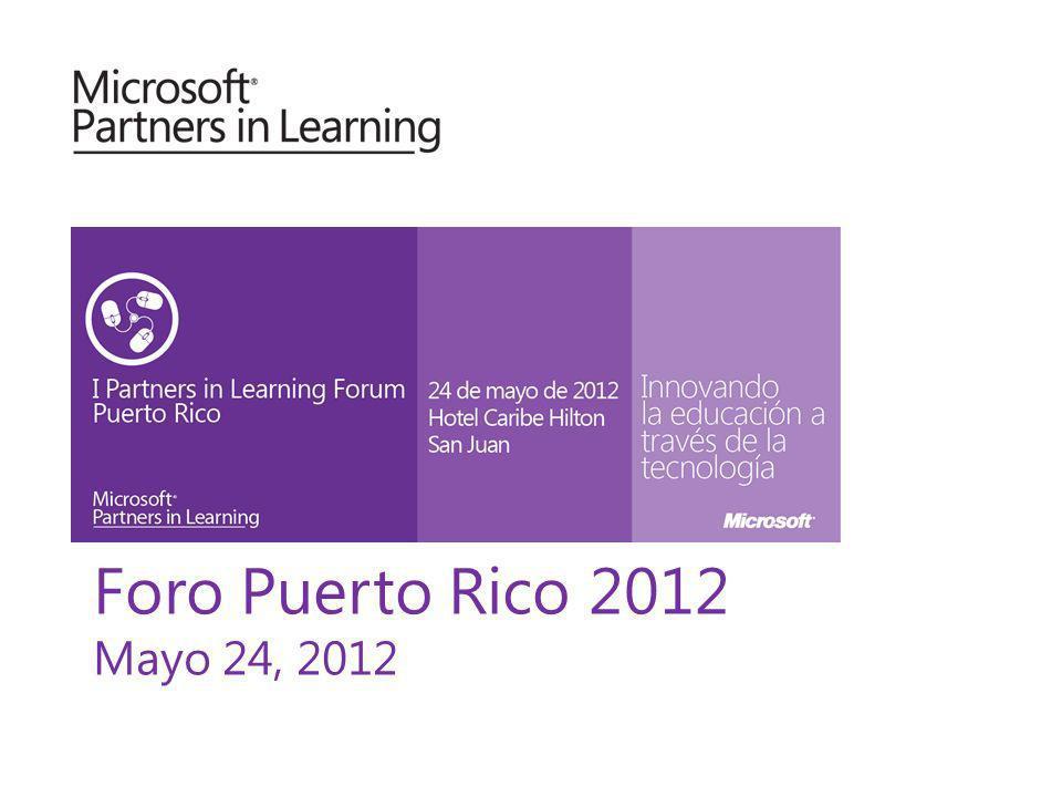 Foro Puerto Rico 2012 Mayo 24, 2012