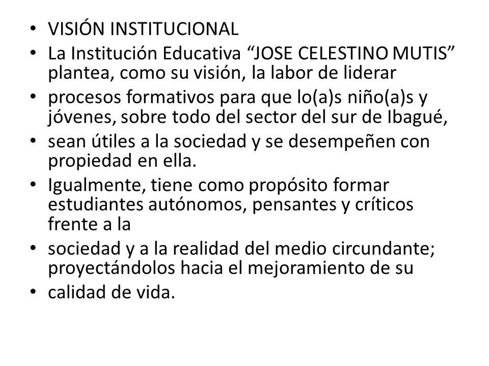 EL HIMNO MUTISSIANO LETRA Y MUSICA: Docente CARLOS ENRIQUE NEIRA CORO: Juventud de los barrios unidos, Al Colmutis venid a estudiar.