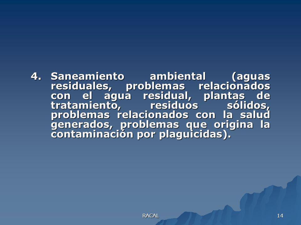 RACAL 13 3.Evaluación de impacto ambiental (¿Cómo se elabora un análisis de impacto ambiental?, ¿Qué factores se deben considerar?, mitigación del imp