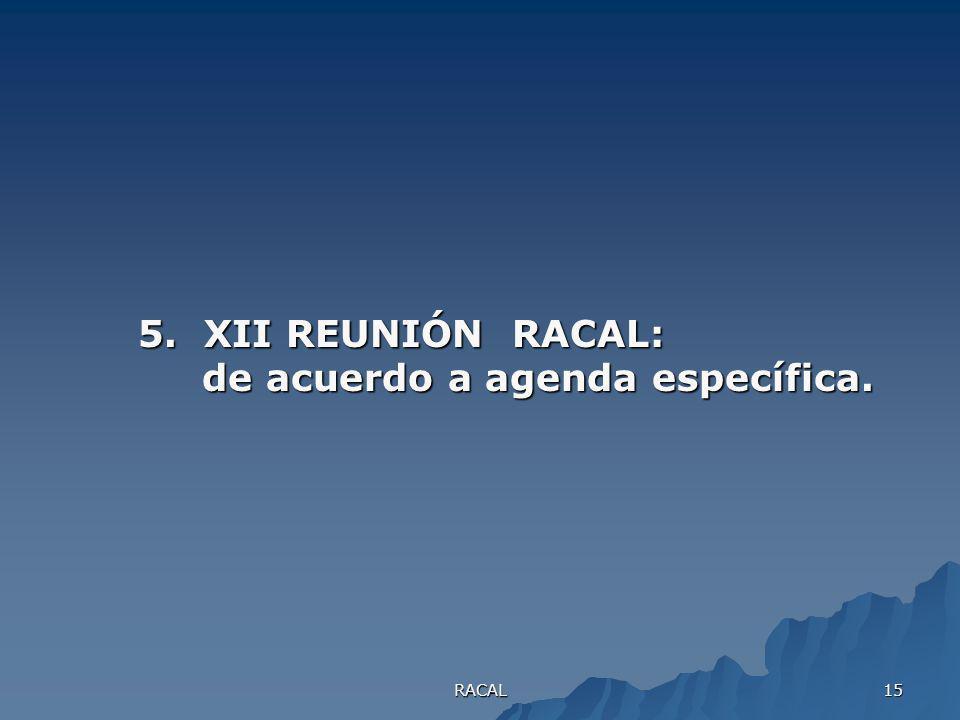 RACAL 14 4.Saneamiento ambiental (aguas residuales, problemas relacionados con el agua residual, plantas de tratamiento, residuos sólidos, problemas r