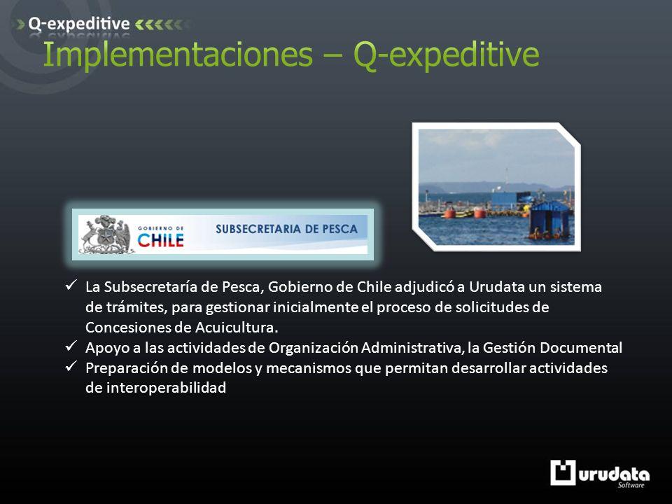 La Subsecretaría de Pesca, Gobierno de Chile adjudicó a Urudata un sistema de trámites, para gestionar inicialmente el proceso de solicitudes de Concesiones de Acuicultura.