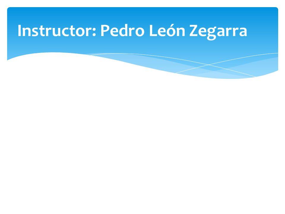 Instructor: Pedro León Zegarra