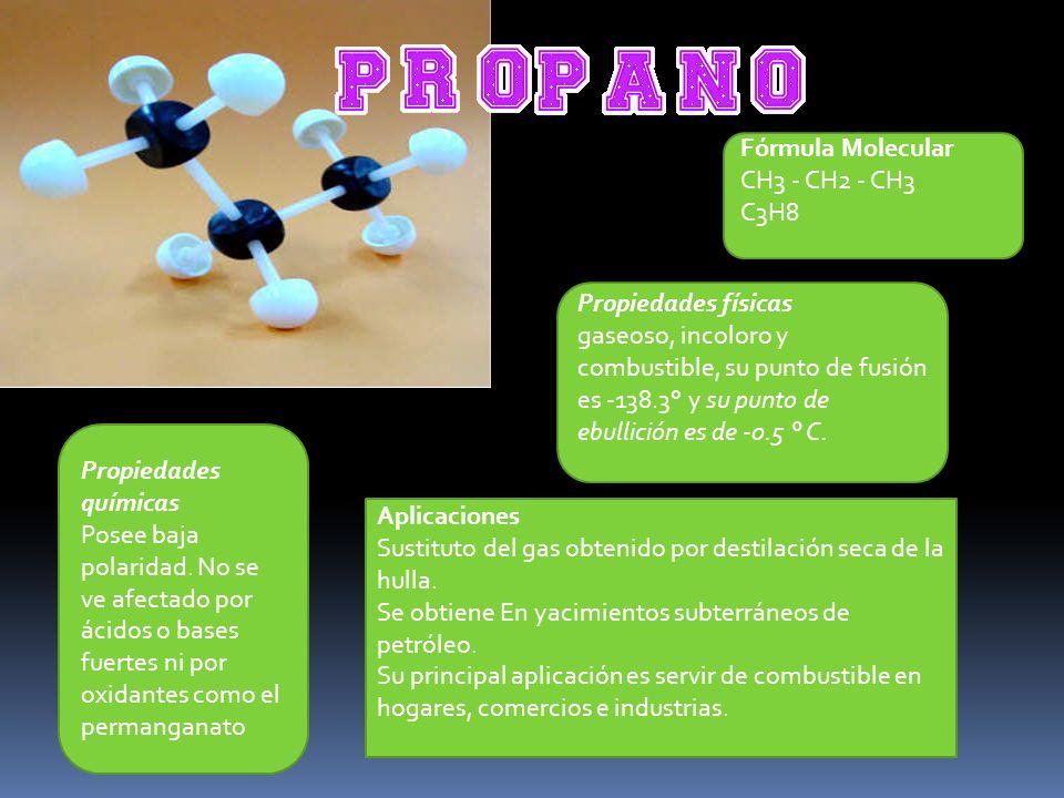 Fórmula Estructura Fórmula Molecular CH3 - (CH2)5 - CH3 C7H16 Propiedades físicas Se encuentra en estado líquido.