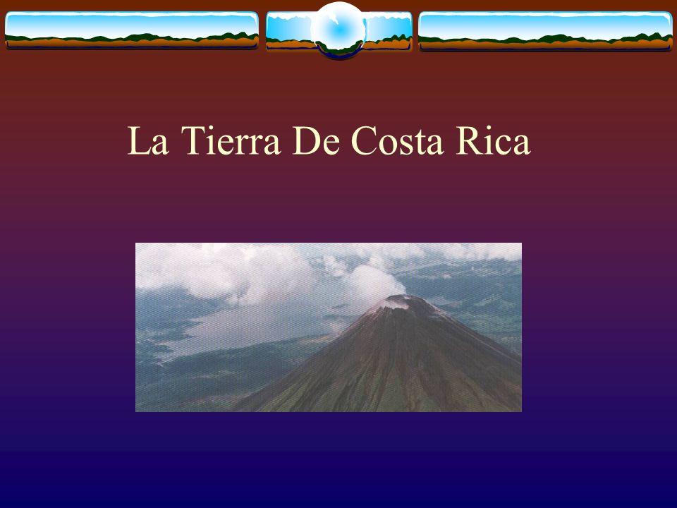 La Formación De Costa Rica Antes de la formación hubo existe solamente espacio.