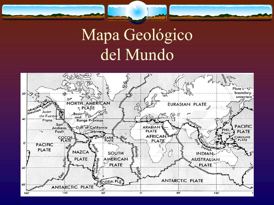 Sísmicos y vulcanismo La teoría de la tectónica de placas- La tierra está constituidda por tres capas: la corteza, el manto y el núcleo.