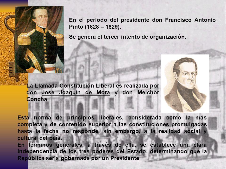 ¿Como se llama a la constitución de 1828.CONSTITUCION LIBERAL ¿Quién fue su creador.