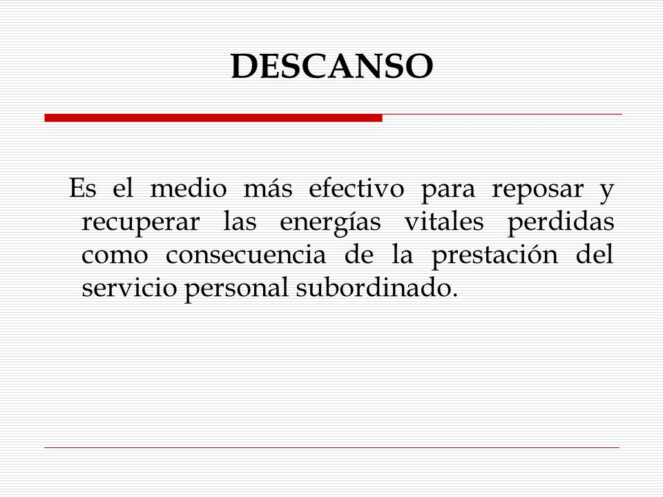 JORNADA DE TRABAJO Y SUS CLASES Reducida legal Reducida por convenio entre las partes Ordinaria Extraordinaria Ilimitada Especial Por horas