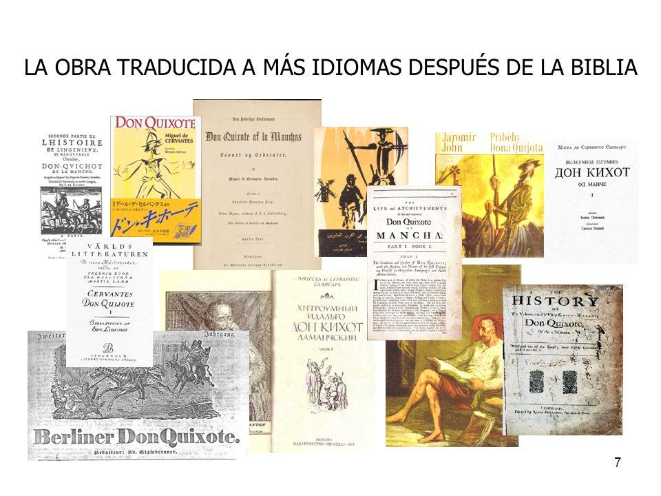 8 Al comienzo de la historia aparece lo que será el rasgo principal de la novela: la locura de don Quijote.
