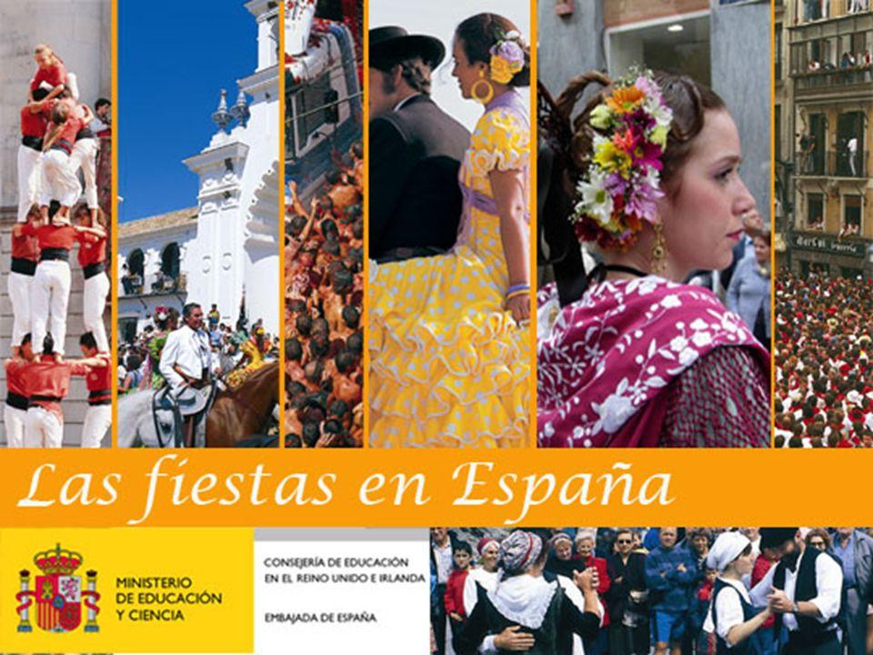 Las fiestas en España ¿Qué te sugiere la palabra fiesta.