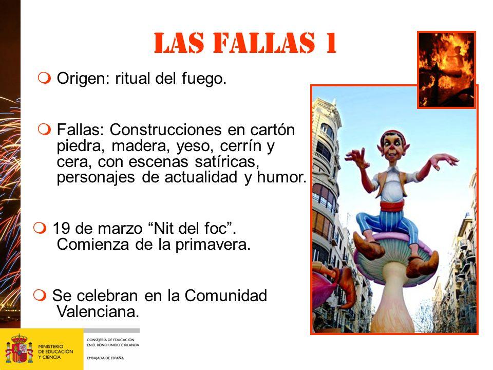 Las fallas 2 Fallas en Valencia