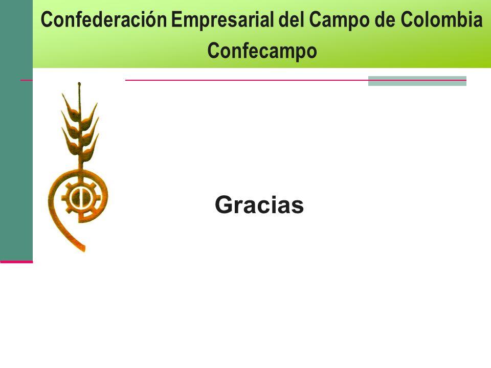 Gracias Confederación Empresarial del Campo de Colombia Confecampo