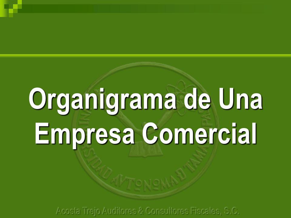 Organigrama de Una Empresa Comercial