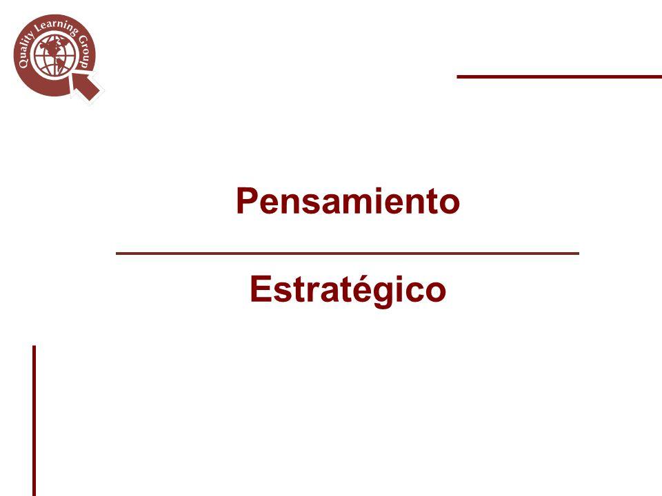 Pensamiento Estratégico