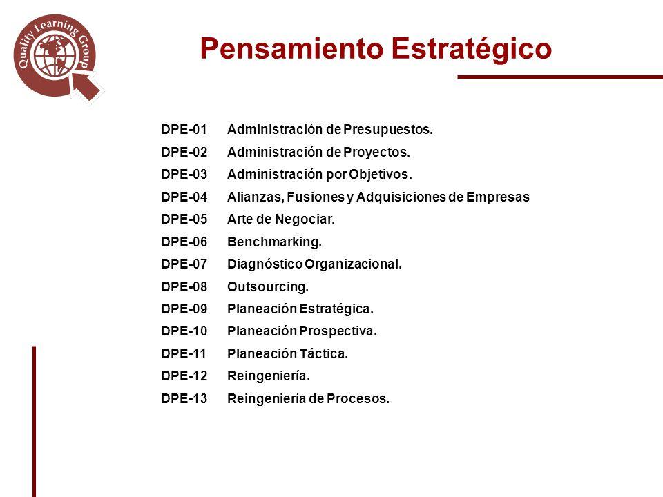 DPE-01Administración de Presupuestos.DPE-02Administración de Proyectos.